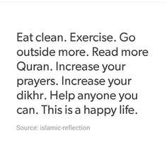 My lifestyle. So simple