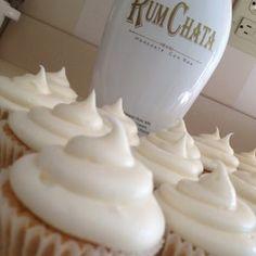Dessert - Rum Chata Cup Cakes