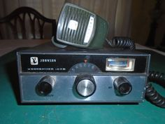 Old Johnson CB Radio by Montyhallsshowcase on Etsy Citizens Band Radio, Citizen Band, Ham Radio, Radios, Mobiles, Electronics, Tv, Vintage, Ideas