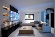 movie room The Top Family Living Room Decoration Ideas Home Cinema Room, Home Theater Setup, Home Theater Rooms, Home Theater Design, Home Theater Seating, Movie Theater, Cinema Room Small, Living Room Remodel, Living Room Decor