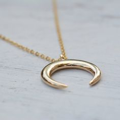 Horn Necklace,Gold Horn Necklace,Moon Necklace,Double Horn Necklace Gold filled or sterling silver double beautiful horn necklace. Simple minimalist and trendy necklace. A beautiful, unique and delicate necklace. The summer fashion... Classic and special summer jewelry. Necklace Measures