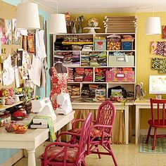 Sewing & craft room.