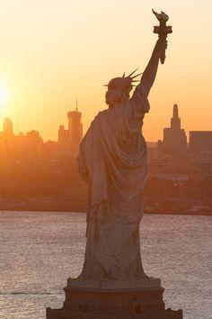 Lady Liberty Sunrise