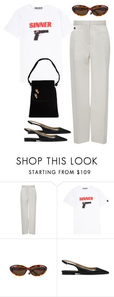 """""""Untitled #2985"""" by hankristina ❤ liked on Polyvore featuring Brock Collection, Hyein Seo, Ted Baker, Michael Kors and Rosenfeld"""