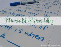 Story Telling for Children- fill in the blanks!