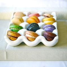 french macaroons...delish (found on Etsy), @Jill Quinn....I love the dish!