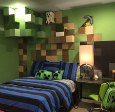Boys Bedroom Ideas - Looking to give my little man something to grow into, thinking this might be a good direction. #boysbedroom #boys #bedroom