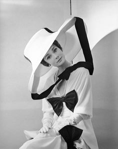 Shoot: Cecil Beaton    Model: Audrey Hepburn
