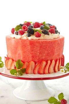 Watermelon Cake   Joy of Kosher