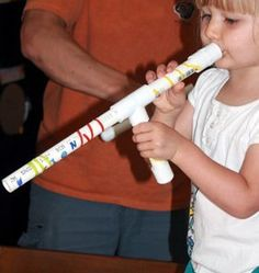 PVC Marshmallow Shooters- All kids love marshmallows and to hit people with flying projectiles, so this simple kids craft is the perfect combination of both, and there won't be any pain or clean up since marshmallows are the projectile of choice.