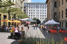 Mint Plaza   Landscape Urbanism—Great project in itself, but also a  low-cost/high-impact model for repairing thousands of underused urban spaces.
