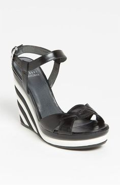 Come to mama!! Oh how I love these! Let me count the ways Stuart Weitzman Attitude Wedge Sandal available at #Nordstrom