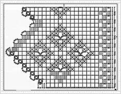 PATRONES=GANCHILLO = CROCHET = GRAFICOS =TRICOT = DOS AGUJAS: GRAFICOS DE PUNTILLAS AL CROCHET= PATRONES A GA...