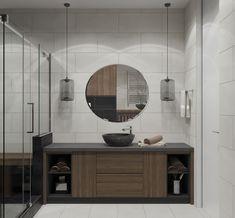 Дизайн интерьера санузла в апартаментах