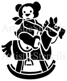 teddy bear stencil | Add it to your favorites to revisit it later.