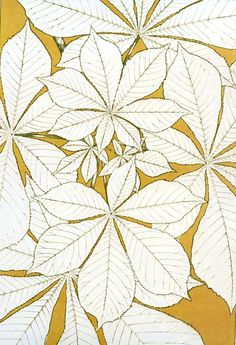 'Leaves from nature' from 'The Grammar of Ornament' by Owen Jones, published in 1856.