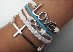 Bracelet with love  http://www.amazon.com/b?_encoding=UTF8&camp=1789&creative=9325&linkCode=ur2&node=3367581&site-redirect=&tag=xcl-20&linkId=LZWZVXKWJHYHD6SP