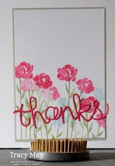 stampin up independent demonstrator Tracy May Hello You card making ideas