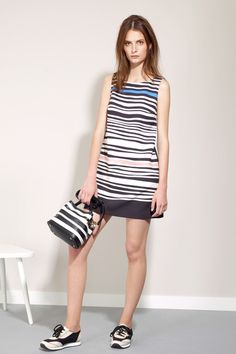 Stripes.  Paule Ka | Resort 2015 Collection | Style.com