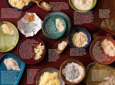 Flour Power: Learn about Different Kinds of Flours - Food & Nutrition Magazine - Fall 2012