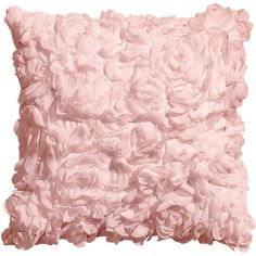 H&M Satin cushion cover ($12) ❤ liked on Polyvore featuring h&m, pillows, hm, home, satin and light pink