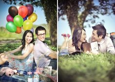 Really cute engagement session