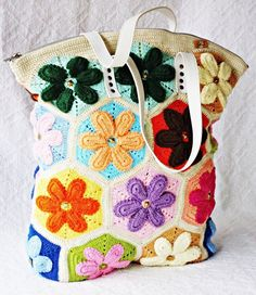 ergahandmade: Crochet Bag + Diagram