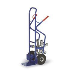 GTARDO.DE:  Treppenkarre mit 5-Stern-Rädern, Tragkraft 200 kg, Schaufel BxT 266x250 mm 277,00 €