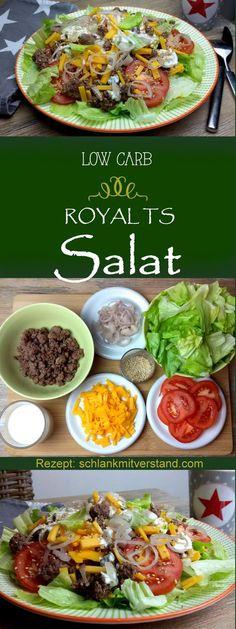low carb Royal TS Salat Manchmal verspürt man einfach Appetit auf was Schnelles und Deftiges. Essen in der Fastfoodbude ist aberout und nix für die low carb Ernährung. Damals vor über 20 Jahren ha…