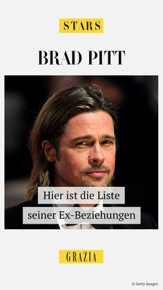 Brad Pitt gehört zu den heißesten und gefragtesten Männern Hollywoods und das ist auch den Frauen nicht entgangen. Mit welchen bekannten Ladies der Schauspieler, neben Angelina Jolie und Jennifer Aniston, noch alles auf Tuchfühlung ging, haben wir für euch recherchiert… #grazia #grazia_magazin #bradpitt #ex #trennungen #startrennungen #starnews #verflossene