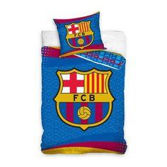 Dekoria Komplet pościeli FC Barcelona Logo