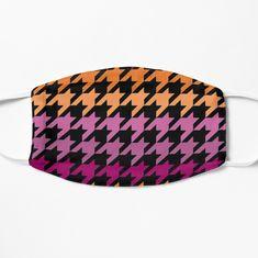 Hounds Tooth, Spandex Fabric, Snug Fit, Chiffon Tops, Purple, Pink, Lesbian, Sunglasses Case, My Arts