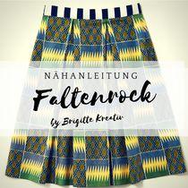 kostenlose Nähanleitung Faltenrock Fancy, Inspiration, African Textiles, Tutorials, Biblical Inspiration, Inhalation, Motivation