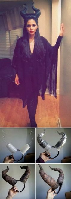 cool DIY Maleficent Costume