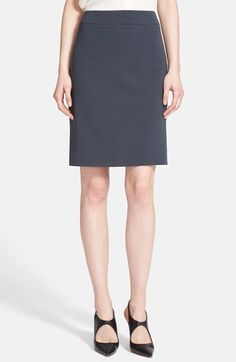 Free shipping and returns on Armani Collezioni Stretch Virgin Wool Pencil Skirt at Nordstrom.com. A timeless staple, this smart pencil skirt is cut from lightweight virgin wool in a cool charcoal neutral for year-round versatility.
