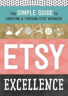 The Ambitious Crafter's Guide to a Profitable Etsy Shop More than a marketplace, Etsy is a community--and being an active, informed member can lead to lucrative results. This book provides actionable