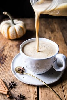 Low Carb Recipes To The Prism Weight Reduction Program Spiced Pumpkin Maple Latte Coffee Recipes, Pumpkin Recipes, Fall Recipes, Pumpkin Butter, Spiced Pumpkin, Pumpkin Spice Latte, Cocoa, Chocolates, Brunch