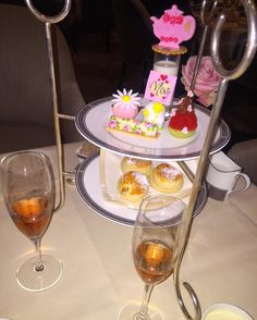 Afternoon tea at The Langham to celebrate mums birthday  by kategrimshaw1