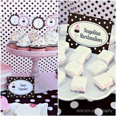 Polka Dot Birthday Supplies, Decor, Clothing: Ice Cream Theme Day Wrap-Up