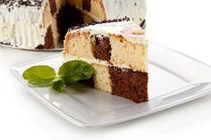 Krémes, mascarponés sakktorta: fantasztikusan néz ki, és nagyon finom Vanilla Cake, Tiramisu, Cheesecake, Ethnic Recipes, Food, Mascarpone, Cheesecakes, Essen, Meals