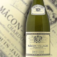 Louis Jadot Macon Villages Chardonnay -World Market-Wines from all around the world! This one's French!