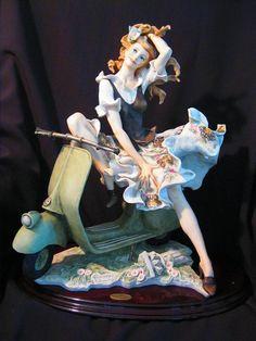 Italian Giuseppe Armani Figurine Roman Holiday