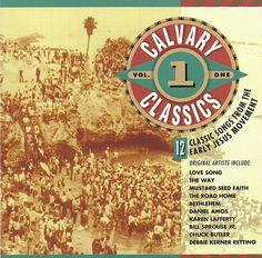Various Artists - Calvary Classics Vol. 1 CD 1993 Asaph [ARD-1075] Jesus Music #JesusMusicChristianGospel