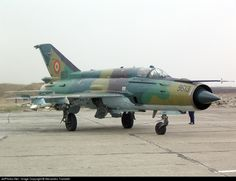 MiG-21 Lancer A taxiing with two FAB-100 bombs attached under the wings.. 9613. Mikoyan-Gurevich MiG-21MF Lancer A. JetPhotos.com is the biggest database of aviation photographs with over 3 million screened photos online!