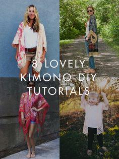 8 Kimono DIYS
