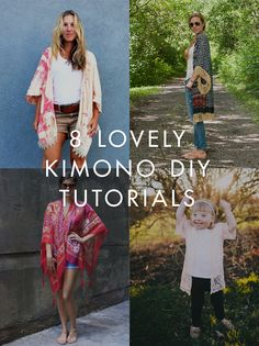 DIY Trends – 8 Kimono Projects