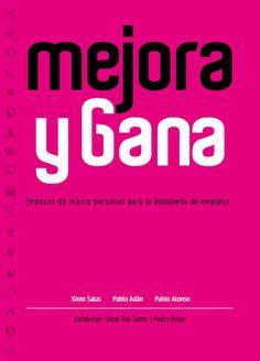 Portada #libro Mejora y Gana #marcapersonal para la búsqueda de #empleo