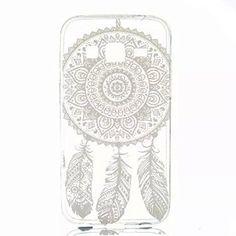 TIODIO TPU Pour Samsung Galaxy Core Prime, coque en silicone flex, transparente avec attrape rêve