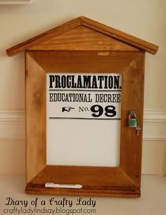 Proclamation Educational Decree Template Word Document now available in my ETSY shop! Click Here to view the Template Listing   ...