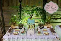 Snakes, lizards, alligators, Reptiles Birthday Party Ideas | Photo 1 of 20 | Catch My Party